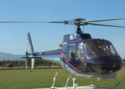 Aerial Laser Survey in New Zealand