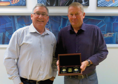 Mark Gilchrist celebrates 20 years of Excellent Service with PSC