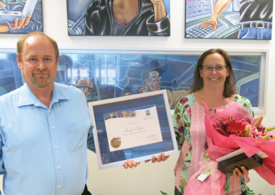 Tanya Edgar celebrates 10 years of Excellent Service with PSC